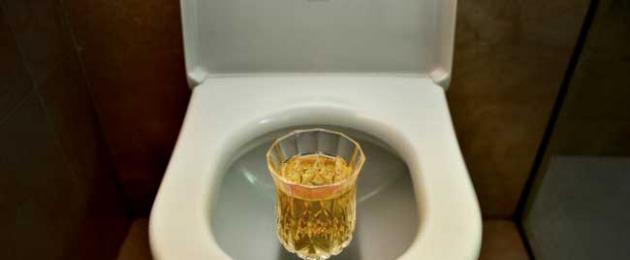 urinoterápia az ízületek kezelésében